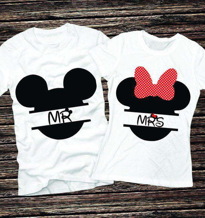 Camisetas Mickey & Minnie