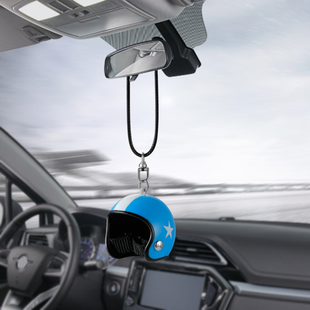 wind in crystal item hanging ornament rearview accessories shining blue lucky view rear chimes h mirror decor pendant flower interior d car