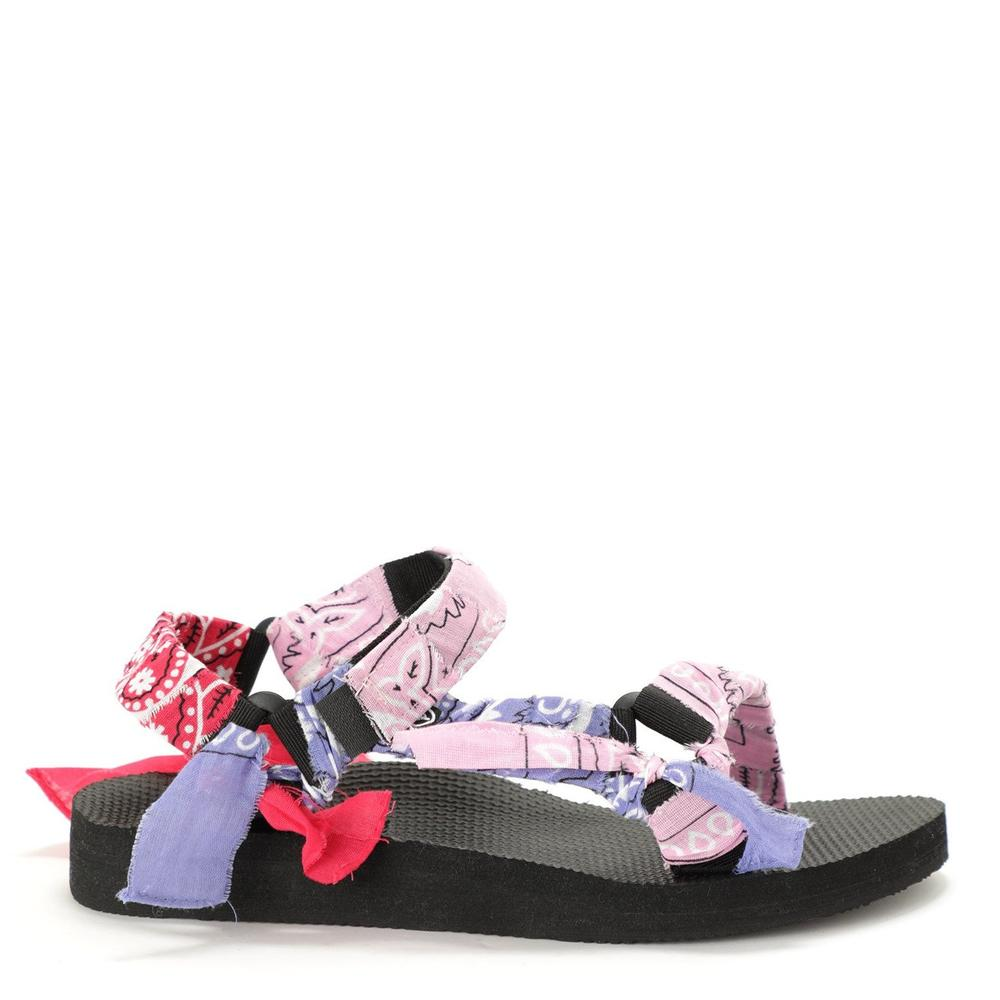 Sandales Trekky bandana rose fille Arizona Love