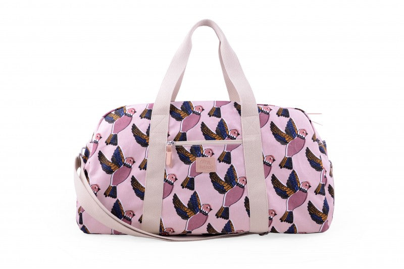 Sac baby Pink Birds Holiday 48h JOJO FACTORY