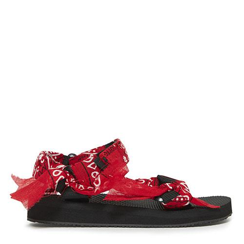 Sandales Trekky bandana rouge fille Arizona Love