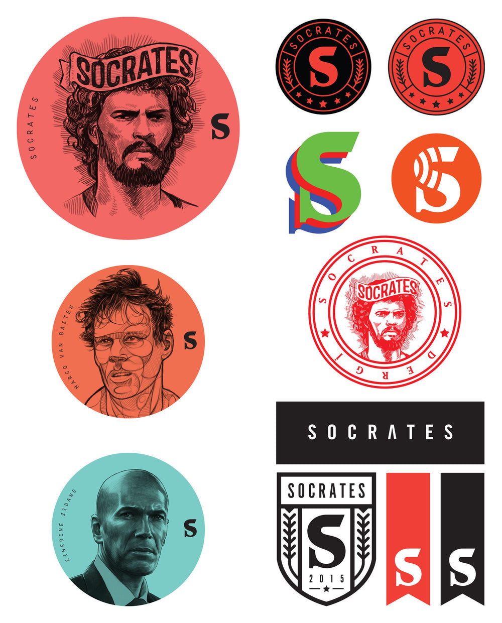 Socrates Sticker