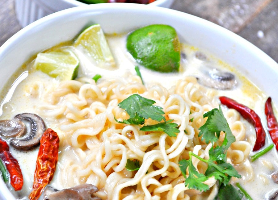 Lemon & Ginger Ramen Soup
