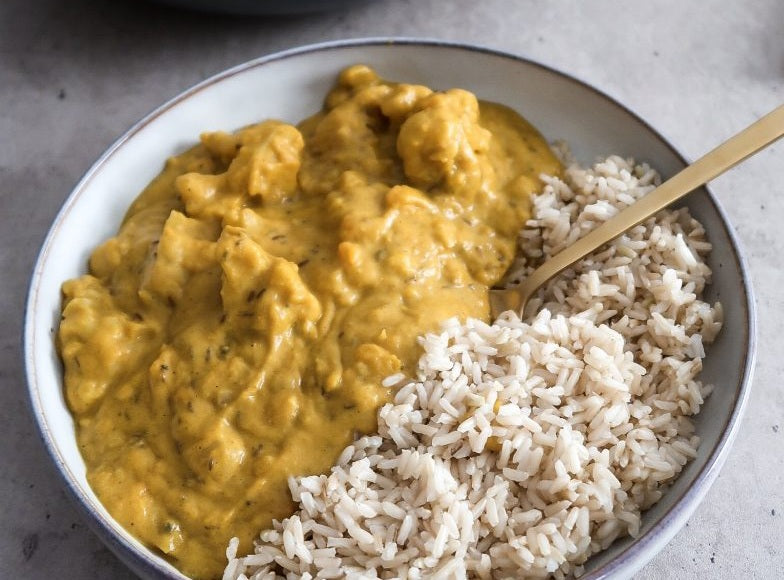 Indian Pumpkin & Cauliflower curry
