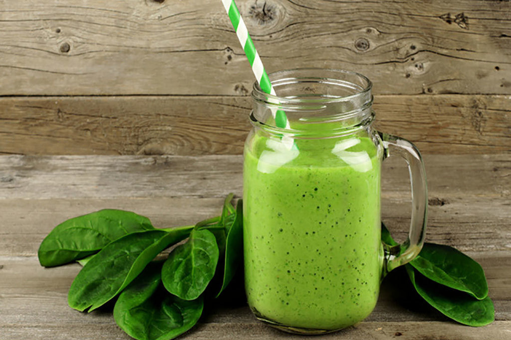Banana Pineapple Spinach Green Smoothie