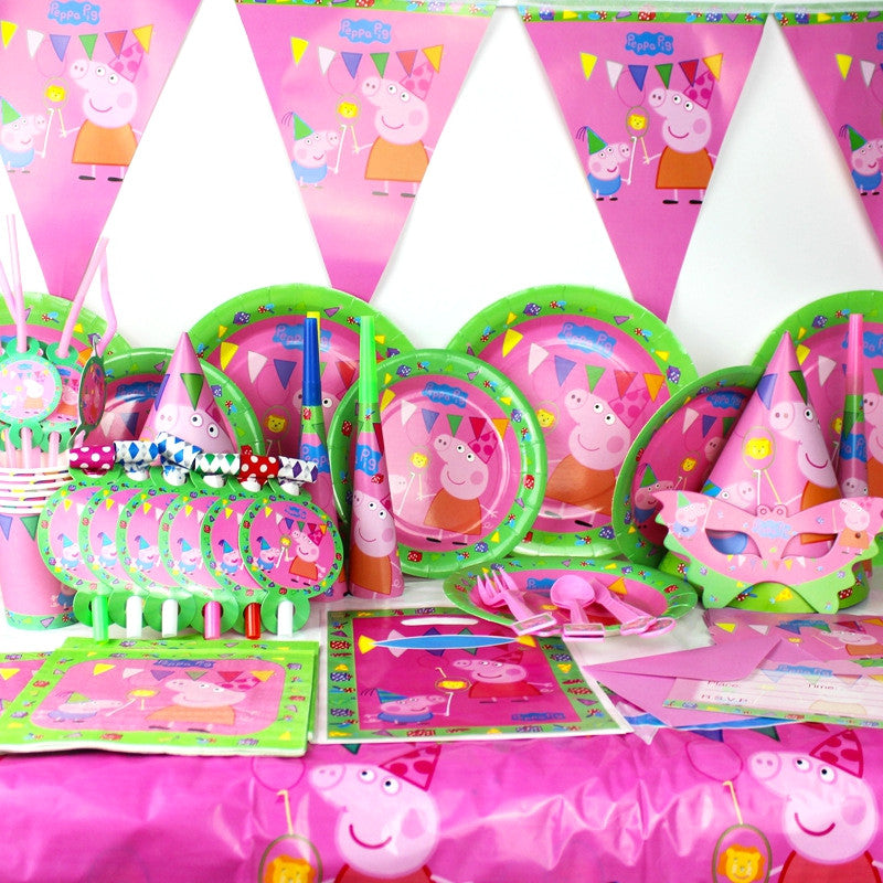 THE PEPPA PIG THEME BIRTHDAY PARTY KIT The Party Kit