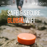 Skyroam Solis: Mobile Hotspot & Power Bank 4G LTE Global WiFi // Unlimited Data // Connect 5 Devices // Pay-as-you-go - Suha's Shop