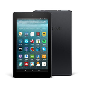 "All-New Fire 7 Tablet with Alexa, 7"" Display, 8 GB, Black - with Special Offers - Suha's Shop"