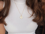 gemini zodiac sign necklace, astrological jewelry