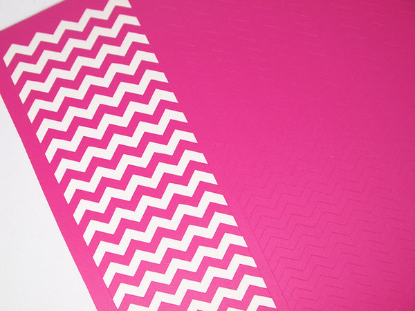 Regular Chevron Nail Vinyls V2 200 Guides In Total
