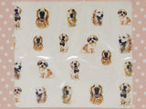 gold retriever nail stickers