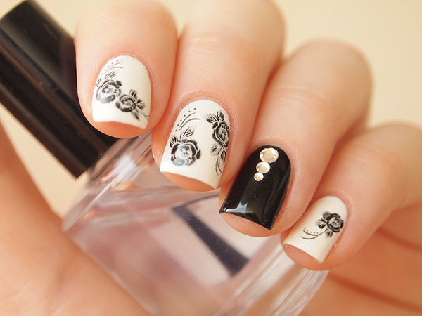clear nail art gems