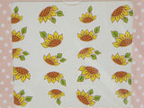 sunflower nail decals