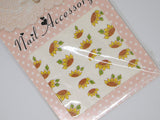 sunflower nail stickers