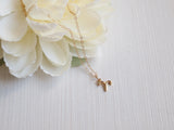 dainty gold aries necklace, 14k gold filled chain