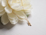 dainty scorpio charm on 14k gold filled chain