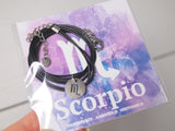 gift necklace for scorpio star sign, friend birthday gift