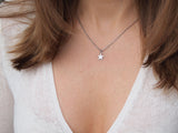 stainless steel star necklace, dainty star necklace, celestial charm