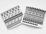 tribal or aztec nail decals