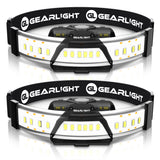 GearLight F300 LED Headlamp [2 Pack]