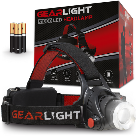 GearLight S1000 LED Headlamp