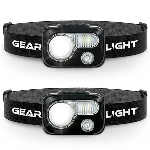 GearLight V500 LED Headlamp [2 Pack]