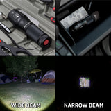 GearLight X1000 LED Tactical Flashlight [2 PACK]