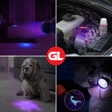 GearLight XR98 UV Black Light Flashlight