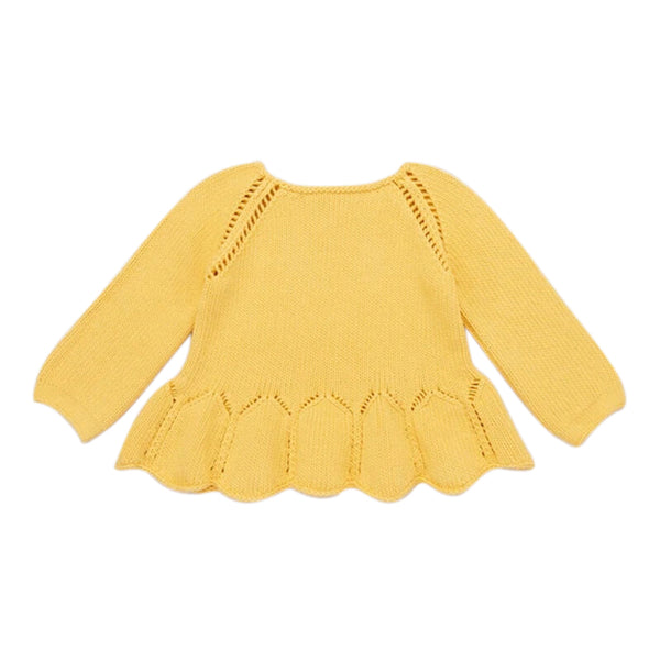 Knit Ruffle Top