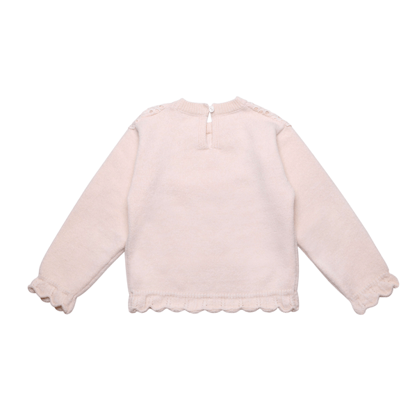 Baby Girl Lace Sweater