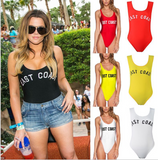 2017 summer dope piece bikini swimsuit letter printing