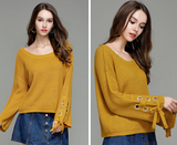 Autumn new fashion long-sleeved sweater top