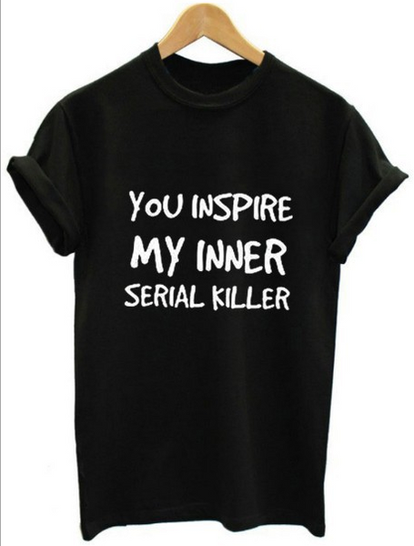 You inspire [printed front] trend T-shirt
