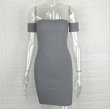 A new sexy dress with short sleeves and short sleeves