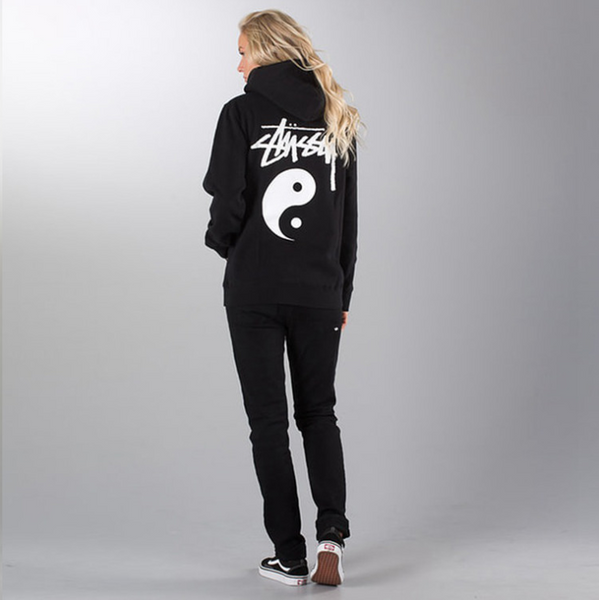Yin and yang tai chi gossip hooded sweater sweater men and women
