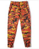 Camouflage tooling trousers
