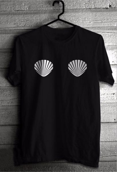 Shell lovers fitted short-sleeved men and women