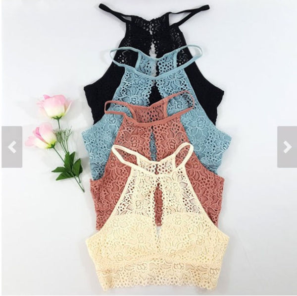 Cute Sexy Strapless Lace Lingerie Tops