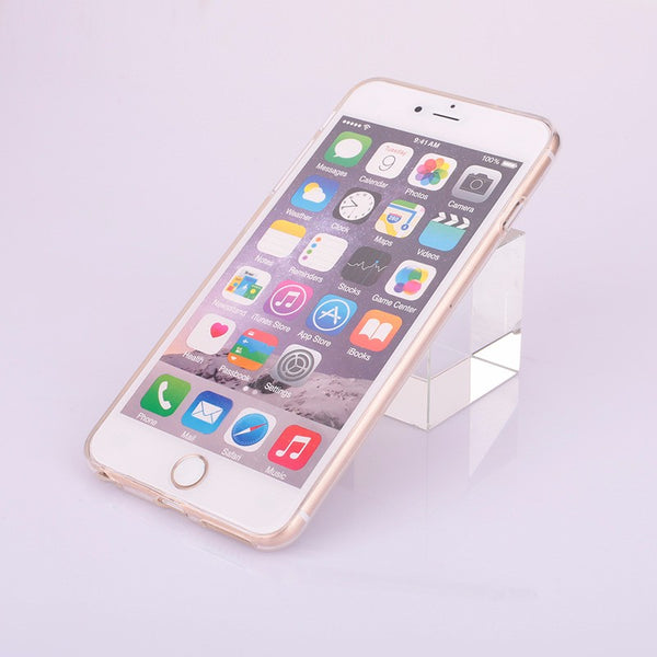 Funda transparente con bolsillo para iPhone