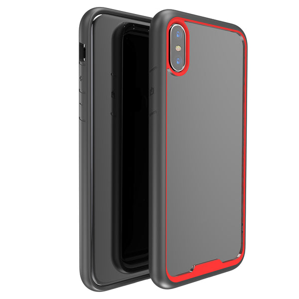 Funda anti-ruptura sutil y transparente para iPhone