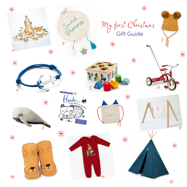 'My first Christmas' gift guide
