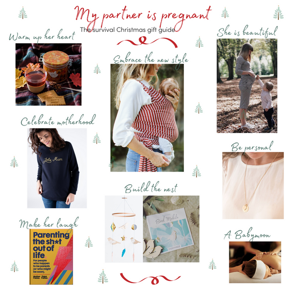 'My Partner is Pregnant' Christmas Gift Guide