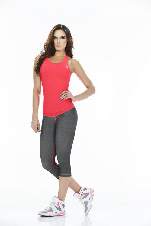 SUPPLEX ® FABRIC CAPRI PANT ONE SIZE