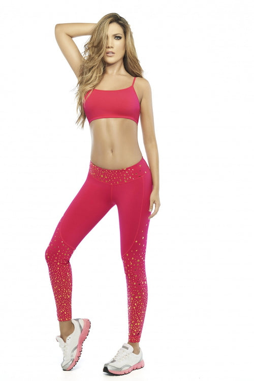 SUPPLEX® FABRIC LEGGINGS -ONE SIZE Ref. 36623