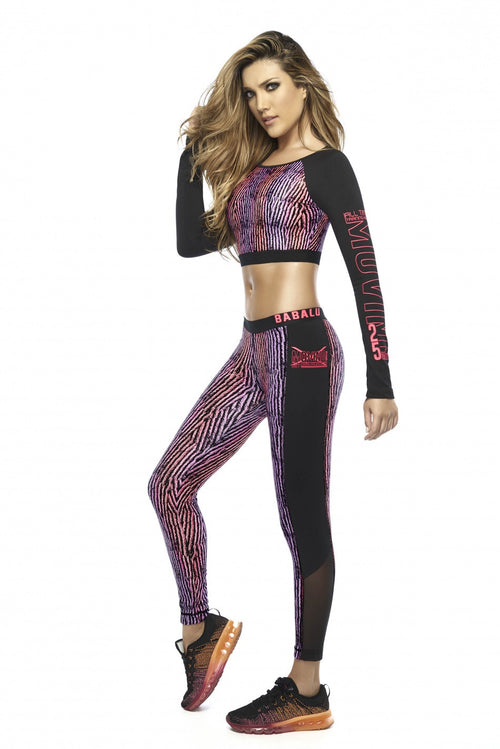 POLYESTER LEGGINGS - ONE SIZE