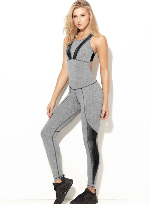 SUPPLEX®FABRIC JUMPSUIT ONE SIZE