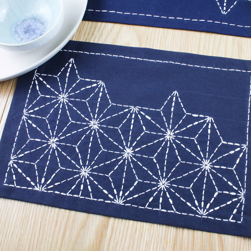 Japanese Sashiko Embroidery Craft Kit
