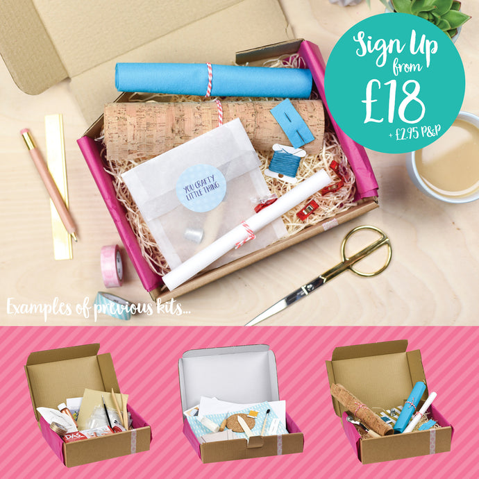 3 Month Craft Kit Subscription (Gift / One-off)