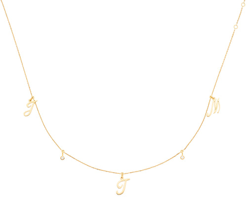 JE T'AIME NECKLACE