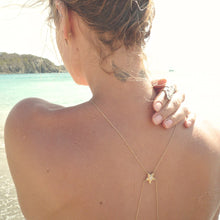 DIAMOND SEAHORSE BODYCHAIN ♡by the sea